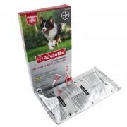 Bayer Advantix 250 (10-25 Kg) 6 Pipetas