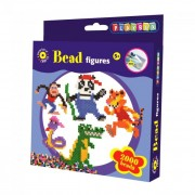 Playbox Gyöngykép figurák, 2000 db - dzsungel állatai