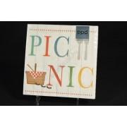 Picnic papírszalvéta 33x33cm 20db