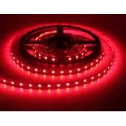 LED szalag , 3528 , 60 led/m , 4,8/m , piros