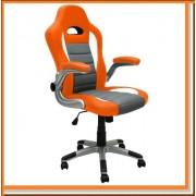 SPORT kancelářská židle křeslo KT-D035 oranžová