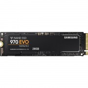 Samsung 250 GB Interne SSD 970 EVO Zwart