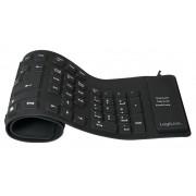 Tastiera Flessibile in Silicone USB/PS2 109 Tasti Layout...