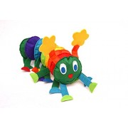 Chubby Cheeks Creations - Caterpillar Toy With Detachable Body To Learn Colors (Age: 1 - 2 Year)