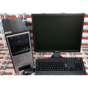 "Kit Calculator Dual Core E2200 2.20GHz 4GB DDR2 HDD 80GB + Monitor LCD 19"" cu Tastatura si Mouse"