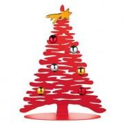 Alessi Designer-Weihnachtsbaum, Rot lackiert, 30 cm