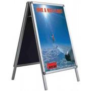 Stand metalic pentru postere B1 (100 x 70 cm), SMIT A-board