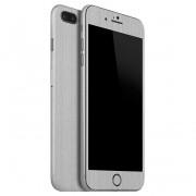 "Apple iPhone 7 Plus (5.5"") FoliaTa Skin Kit Carbon Fata / Spate, Silver"