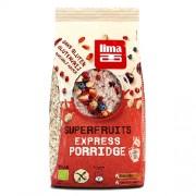 Porridge Express cu Superfructe fara Gluten Eco 350g Lima