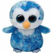 Jucarie Plus 24 cm Beanie Boos Ice Cube blue penguin TY