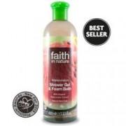 Gel de dus si spuma de baie cu pepene Faith in Nature 400 ml