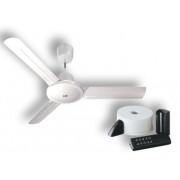 vortice kit ventilateur plafond nordik evolution r 140/56 blanc 61752 ev61752b