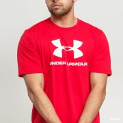 Under Armour KR SPORTSTYLE LOGO SS red MD