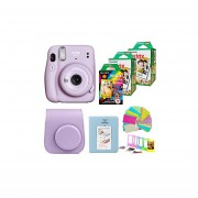 Fujifilm Instax Mini 11 Lilac Purple Camera with 2X Fuji ...