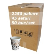 Pahar carton 6oz CC SBP bax 2250buc