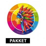 Shoppartners Indianen thema decoratie pakket