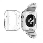 TPU transparante kleur beschermende soft case hoes voor apple iWatch (42 mm)