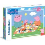 Puzzle Maxi Purcelusa Peppa Clementoni 24 piese