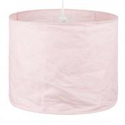 Maisons du Monde Lámpara de techo de lino rosa