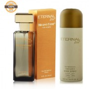 Eternal Love Body Spray for Women 200ml + Eternal Love Eau De Parfum Women 120ml