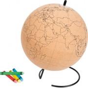 Vox Globus do kolorowania korek