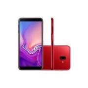 Smartphone Samsung Galaxy J6+ SM-J610G, Android 8.1 32GB Quad Core Câmera 13MP+5MP Tela 6.0, Vermelho