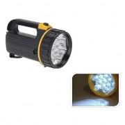 Geen Zwarte LED zaklamp 20 cm