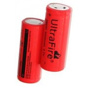 Panasonic UltraFire 2x 26650 Batterie (5000 mAh, Wiederaufladbar)