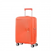 American Tourister Soundbox hård kabinväska, 4 hjul, 55 cm, Orange