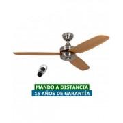 CasaFan Ventilador De Techo Casafan 9313224 Night Flight 132 Haya / Cromo Satinado