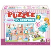 Puzzle cu surprize Castel, 36 piese