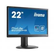 "IIYAMA Monitor 22"" Iiyama Prolite B2280hs-B1 Led Full Hd Hdmi Vga Refurbished Altoparlanti Integrati"