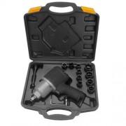 """Avvitatore ad aria compressa/pneumatico/ad impulsi 1/2"""" c/valigetta accessoriata professionale - Mod. A"""