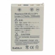 Power3000 PL155L.649 - acumulator tip EN-EL5 pentru Nikon, 1100mAh