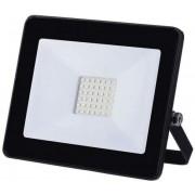 Proiector LED Slim, 50W, IP65, negru, 25000 ore, 6500 K, rece