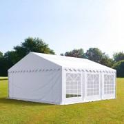 TOOLPORT Partytent 6x6m PVC 500 g/m² wit waterdicht Gartenzelt, Festzelt, Pavillon