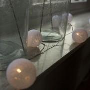 Kaemingk Christmas String Lights Ball 24 warm white LED 3.8 meters