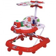 ABASR PANDA CREATION MUSICAL ACTIVITY WALKER WITH PARENT ROD (RED)