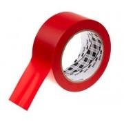 3M Nastro segna corsie Gomma Rosso Vinile, 50mm x 3, spessore 0.1m, 764