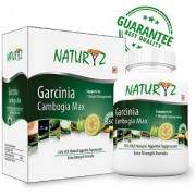 Naturyz Garcinia Cambogia Max 60 Capsules (800mg) Weight Loss with Extra Strength Formula