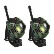 Juguete militar reloj walkie talkie walkie talkie juguete