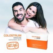 COLOSTRUM IMMUNE 60% immunoglobulin - tabletki 60 szt.