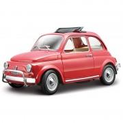 Bburago Model auto Fiat 500 Nuova 1968 rood 1:24