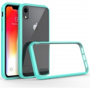 Funda Case Iphone XR De Acrilico Transparente - Menta