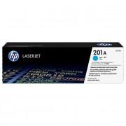 HP CF401A [C] #No.201A toner (eredeti, új)