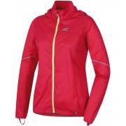 HANNAH CUSTO Dámská ultralehká sportovní bunda 10003008HHX01 rouge red (sulphur) 36