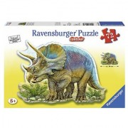 Triceratops Shaped Puzzle 72-Piece