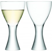 LSA Elina Wijnglazen - Set van 2 Stuks - 470 ml - Transparant