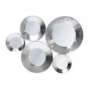 Kare Design Circoli Cinque Spiegel Silver