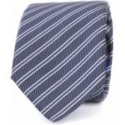 Suitable Krawatte Progetto Streifen Dunkelblau - Dunkelblau